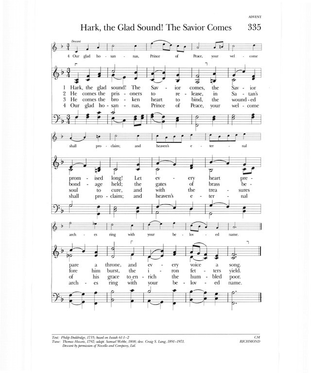 Psalter Hymnal (Gray) page 433