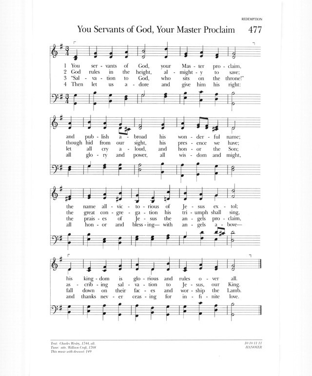 Psalter Hymnal (Gray) page 595