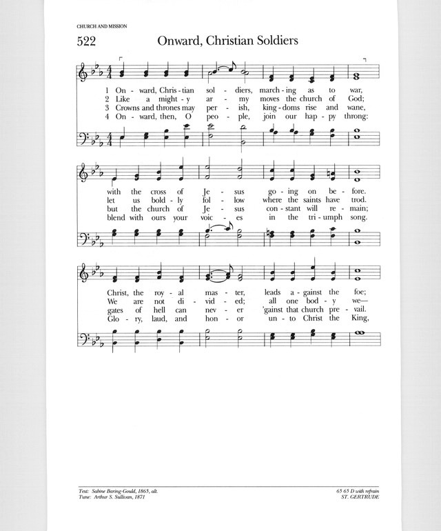 Psalter Hymnal (Gray) page 654