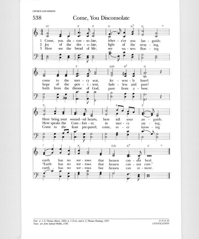Psalter Hymnal (Gray) page 676