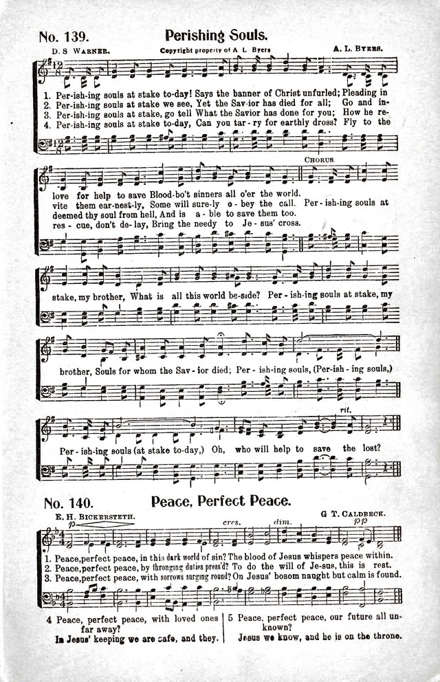 Reformation Glory: a new and inspiring collection of gospel hymns for evangelistic services page 129