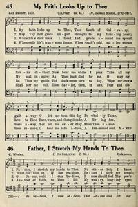 father i stretch my hands to thee lyrics