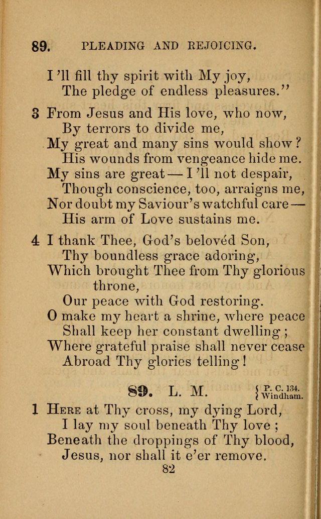 Revival Hymns page 82