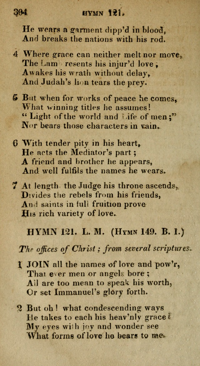 The Reformed Methodist Pocket Hymnal: Revised: collected from various authors. Designed for the worship of God in all Christian churches. page 304