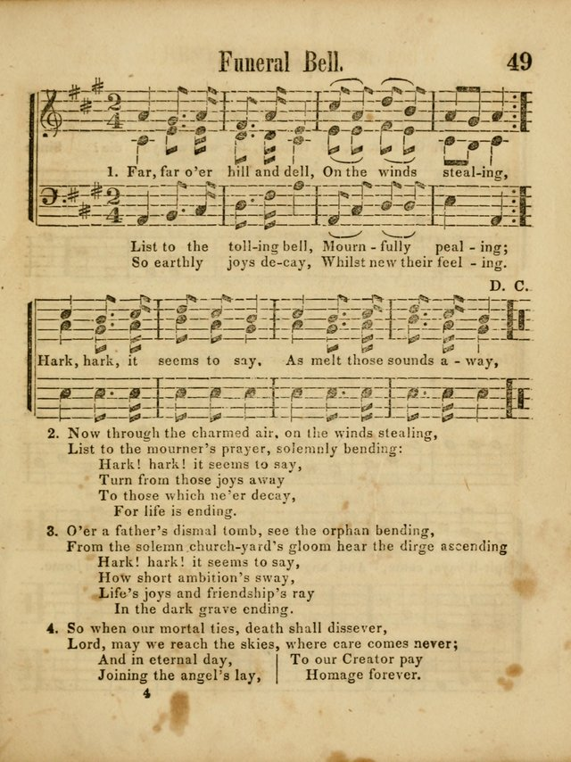 Revival Melodies, or Songs of Zion. page 49