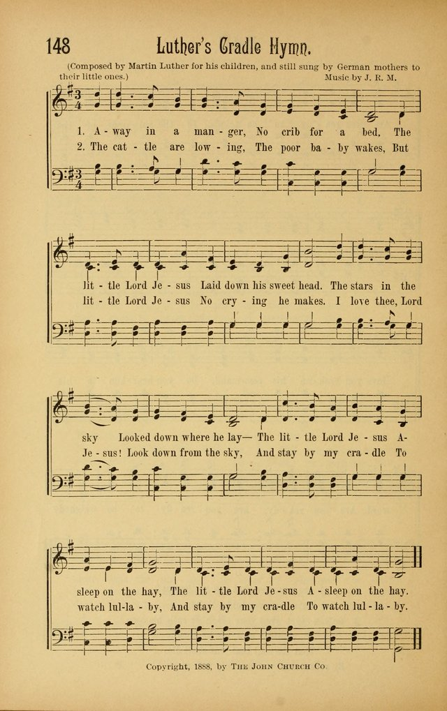 Royal Praise for the Sunday School: a collection of new and selected gospel songs. With a clear and concise course of instruction in the elements of music page 147