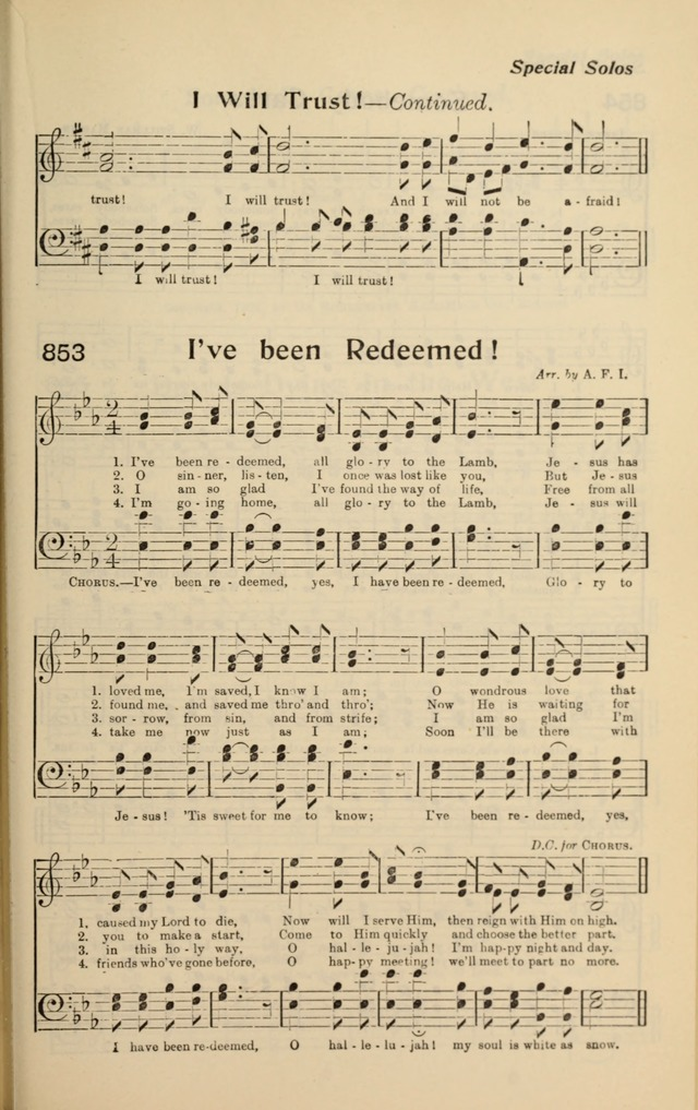 I've been redeemed, all glory to the Lamb - Hymnary.org