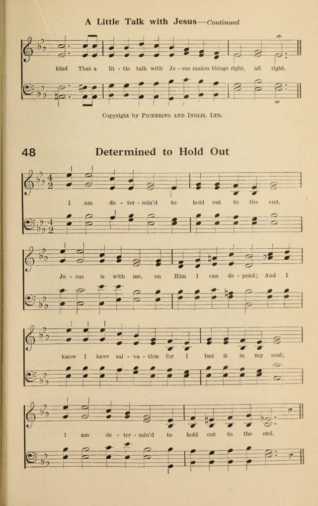 I Am Determined to Hold Out | Hymnary org