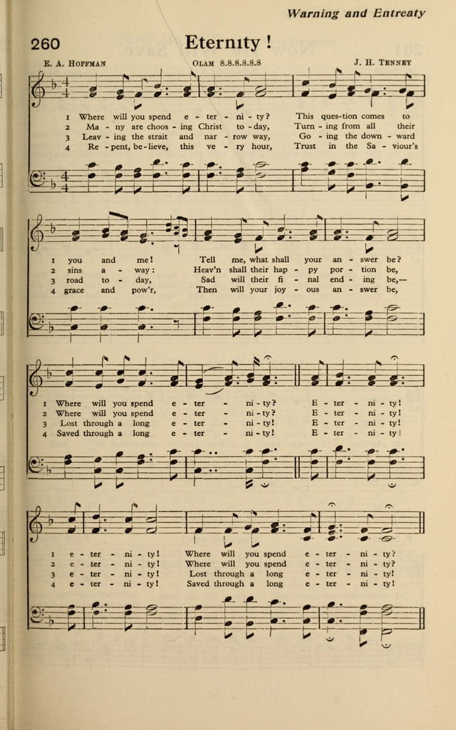 Where Will You Spend Eternity? - Hymnary.org