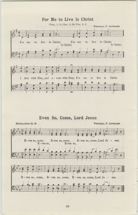 Radio Songs and Choruses of the Gospel No. 1 page 46