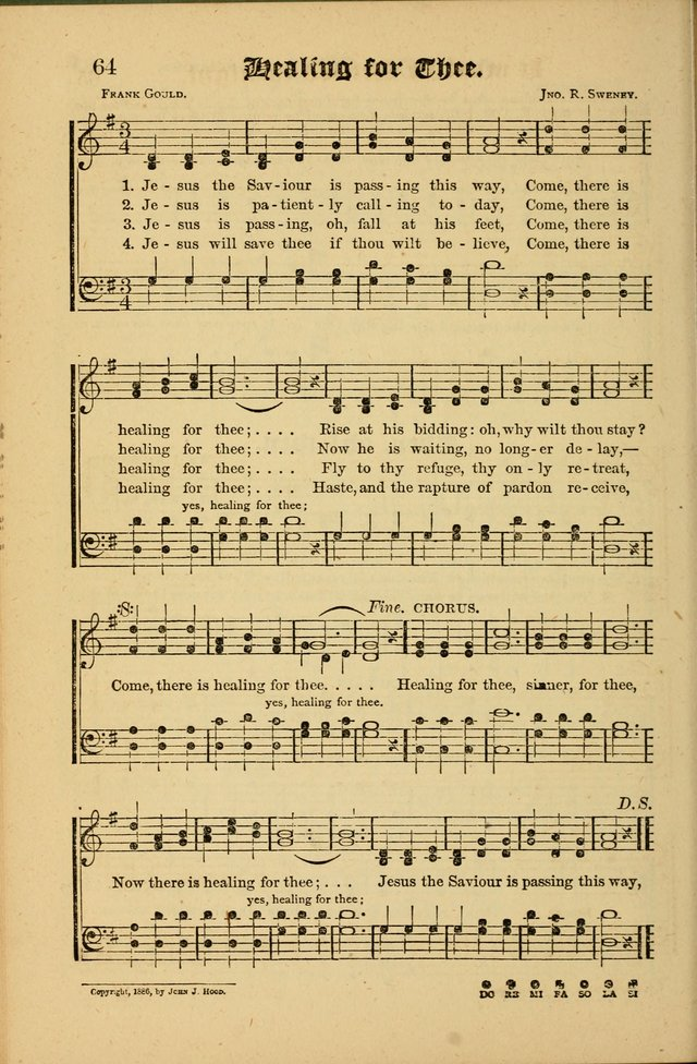 The Revival Wave: A Book of Revival Hymns and Music page 64