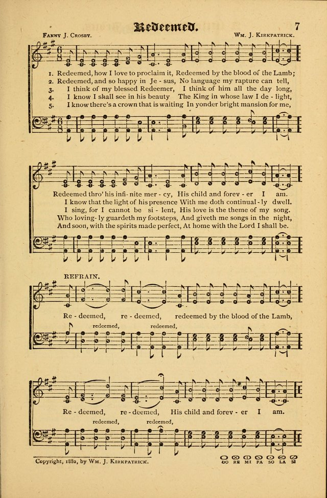 The Revival Wave: A Book of Revival Hymns and Music page 7