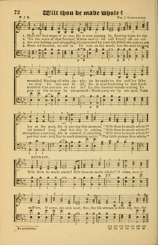 The Revival Wave: A Book of Revival Hymns and Music page 72