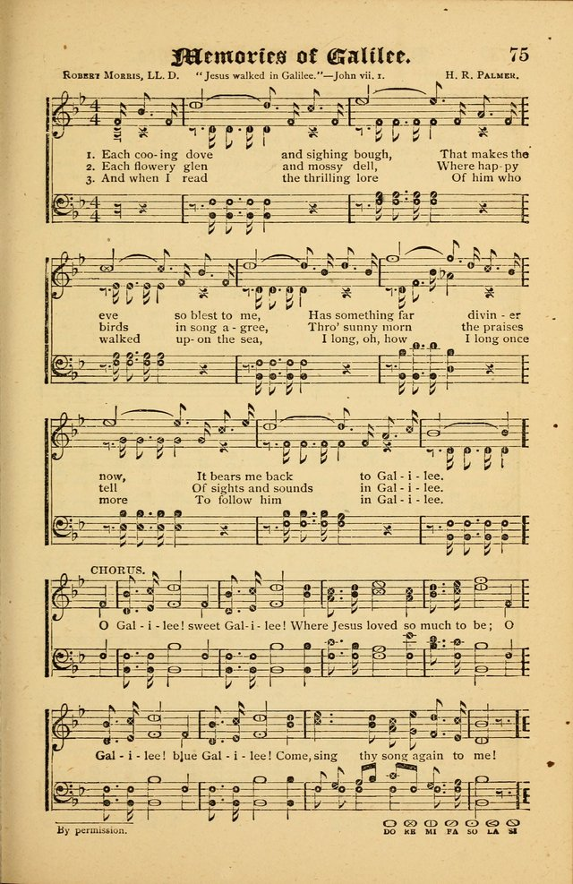 The Revival Wave: A Book of Revival Hymns and Music page 75