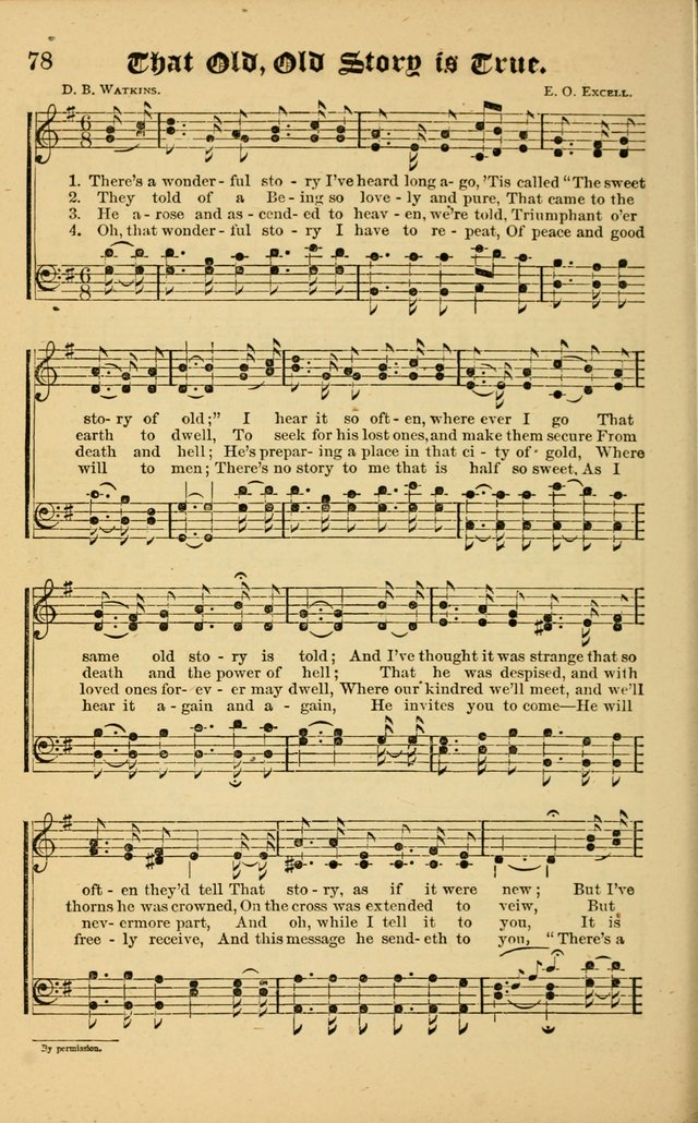 The Revival Wave: A Book of Revival Hymns and Music page 78