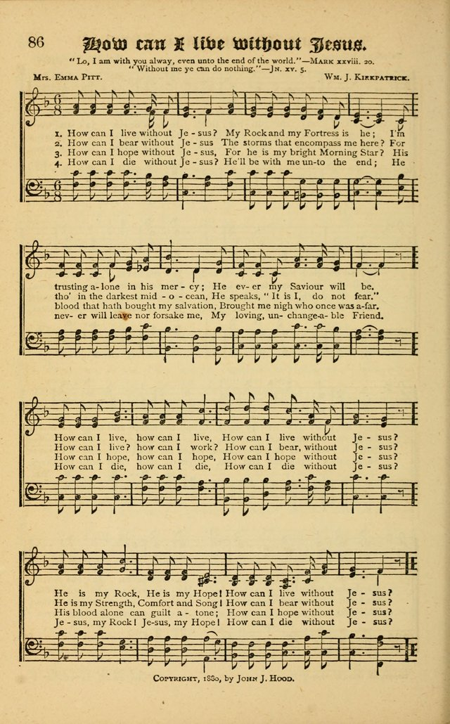 The Revival Wave: A Book of Revival Hymns and Music page 86