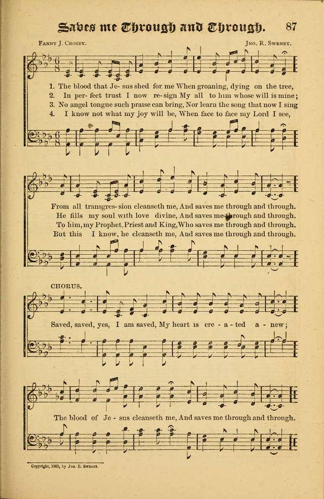 The Revival Wave: A Book of Revival Hymns and Music page 87