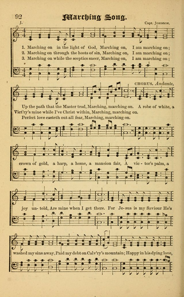 The Revival Wave: A Book of Revival Hymns and Music page 92