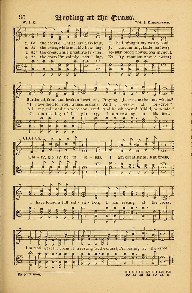The Revival Wave: A Book of Revival Hymns and Music page 95