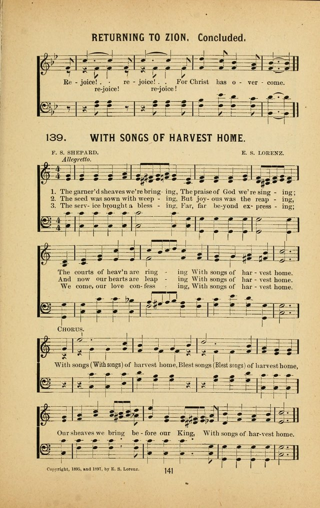 Riches of Grace a Collection of New Songs and Standard Hymns page 141