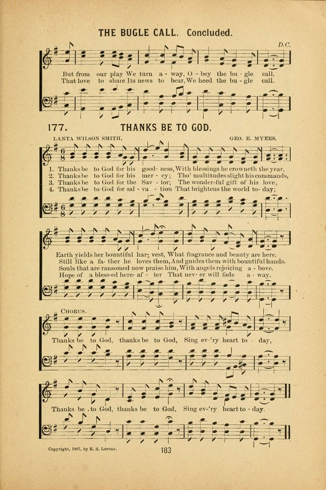 Riches of Grace a Collection of New Songs and Standard Hymns page 183