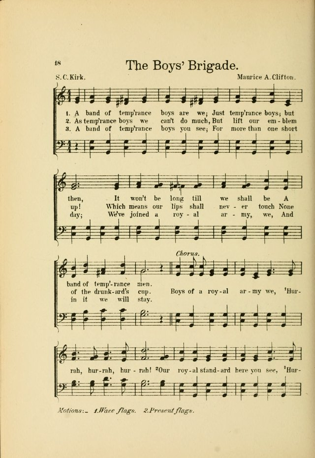 Songs for Little Singers: A Collection of easy pieces for Beginners and Primary Departments of the Sunday School and for use at home page 18