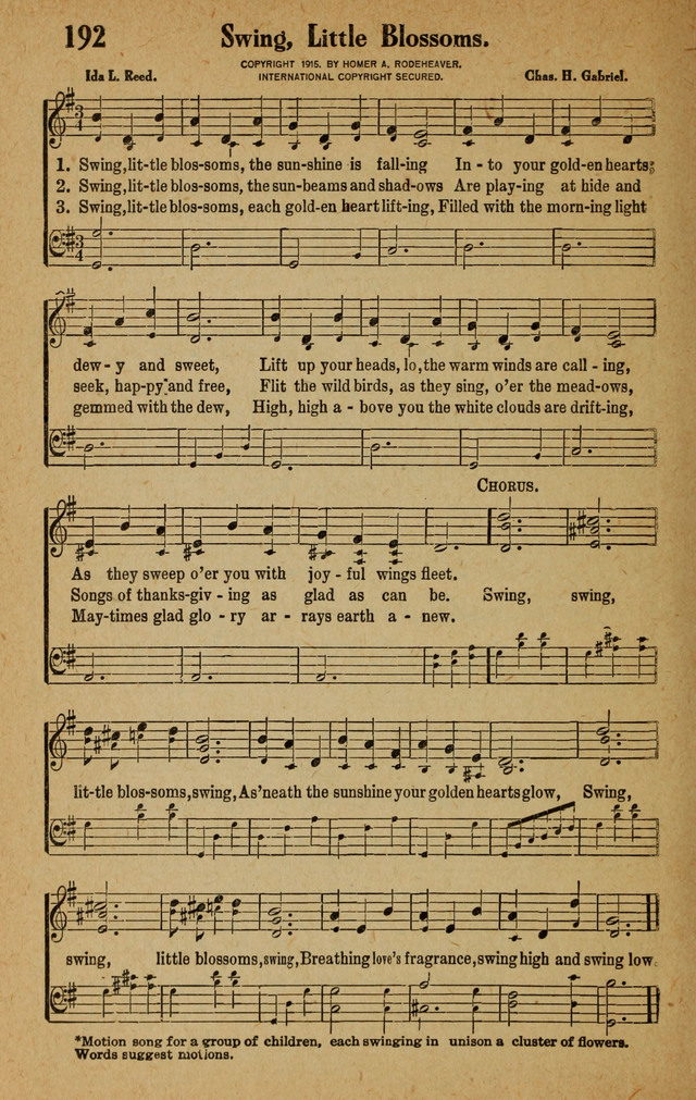 Songs for Service page 192