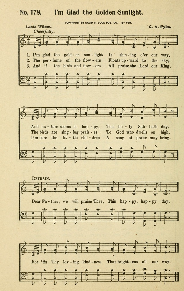 Songs for the Sunday School page 164