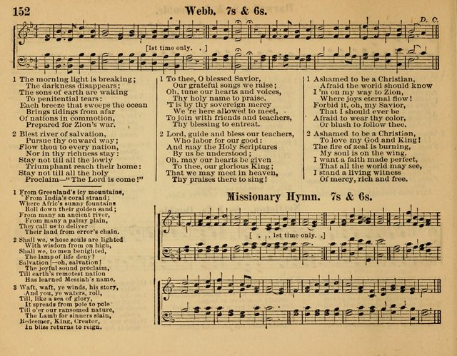 Songs for Worship: in the Sunday-school, social-meeting, and family page 152