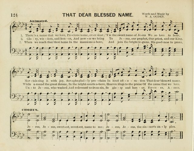 Songs of the Bible for the Sunday School page 124