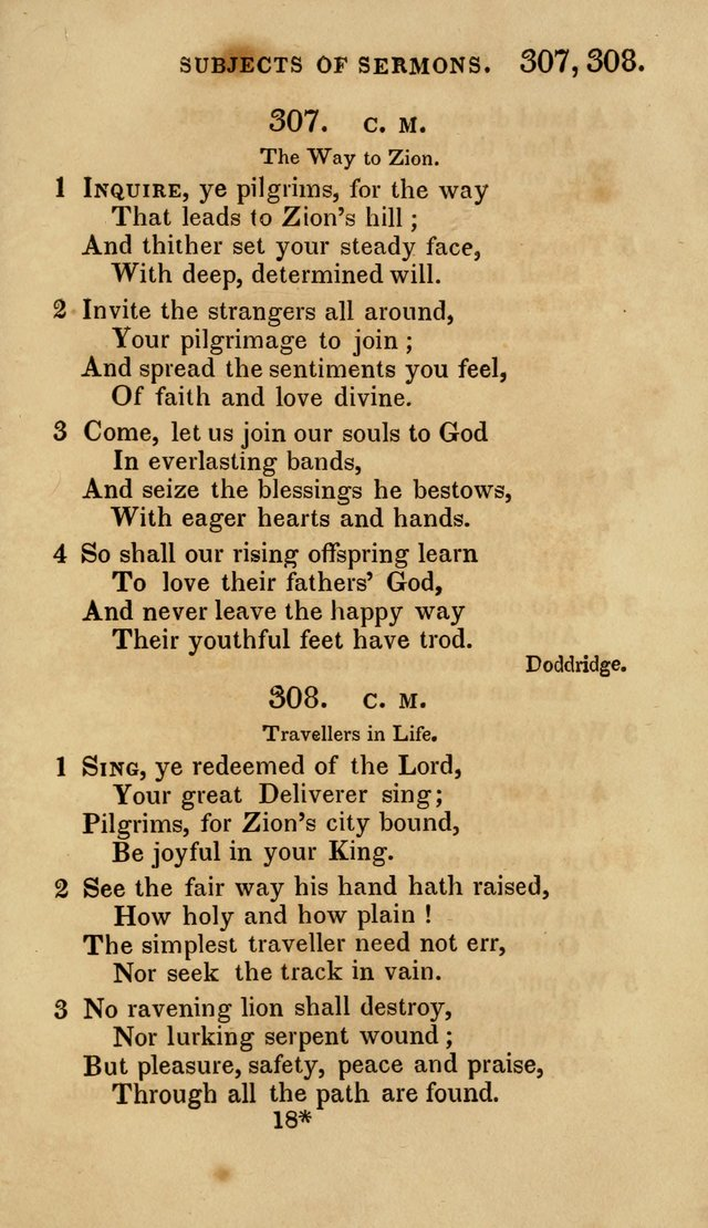 The Springfield Collection of Hymns for Sacred Worship page 228