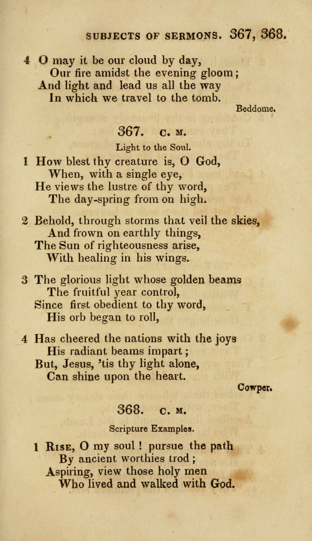 The Springfield Collection of Hymns for Sacred Worship page 266