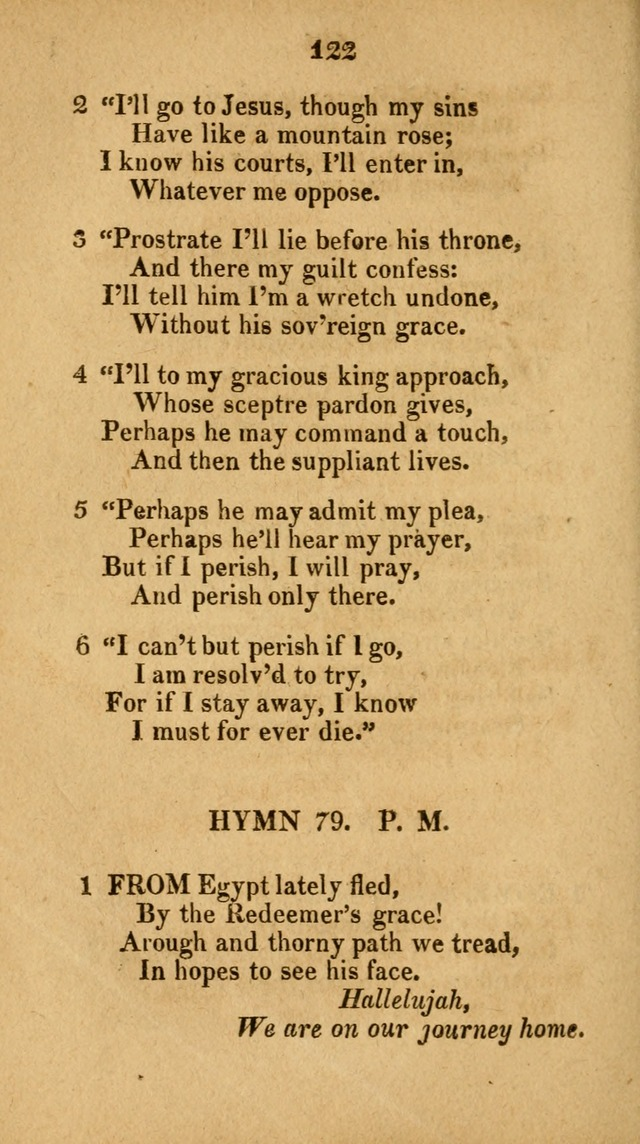 Social and Campmeeting Songs For the Pious (4th ed.) page 122