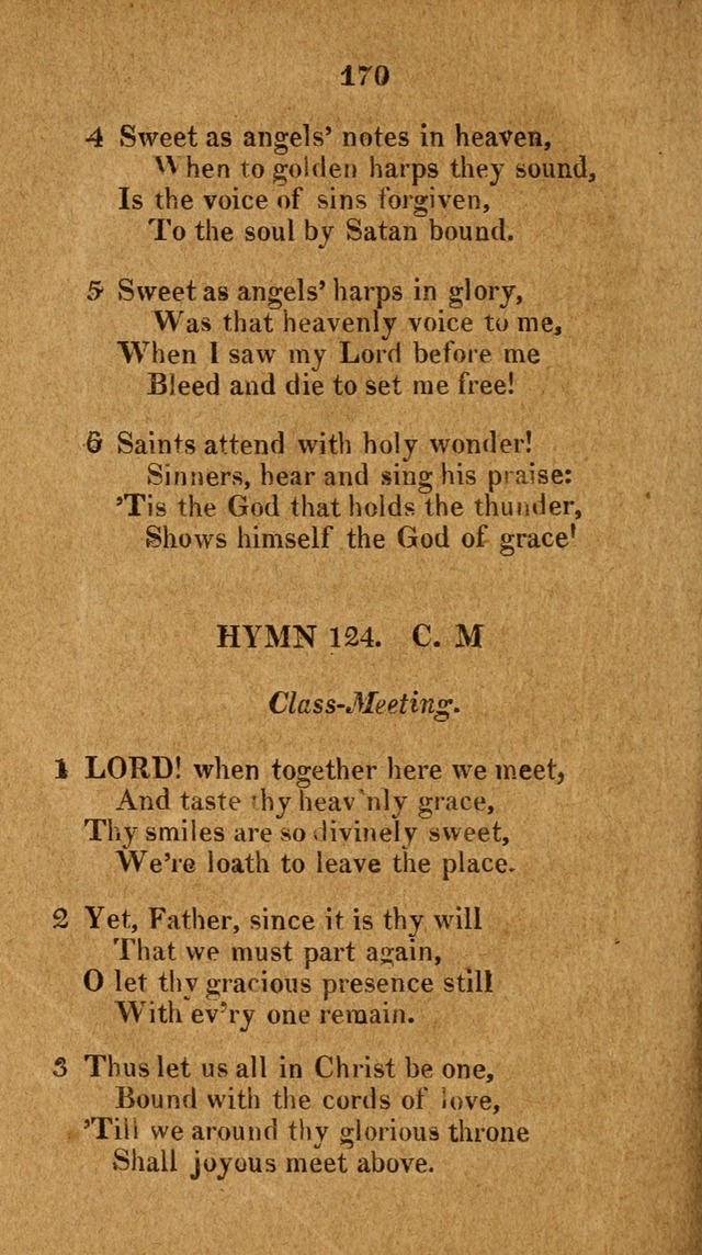 Social and Campmeeting Songs For the Pious (4th ed.) page 170