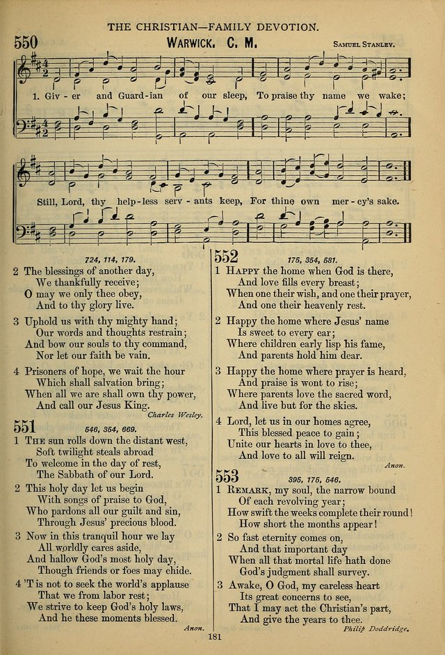 The Seventh-Day Adventist Hymn and Tune Book: for use in divine worship page 181