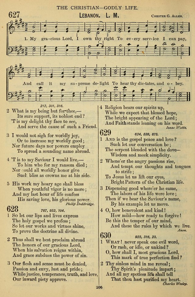 The Seventh-Day Adventist Hymn and Tune Book: for use in divine worship page 206