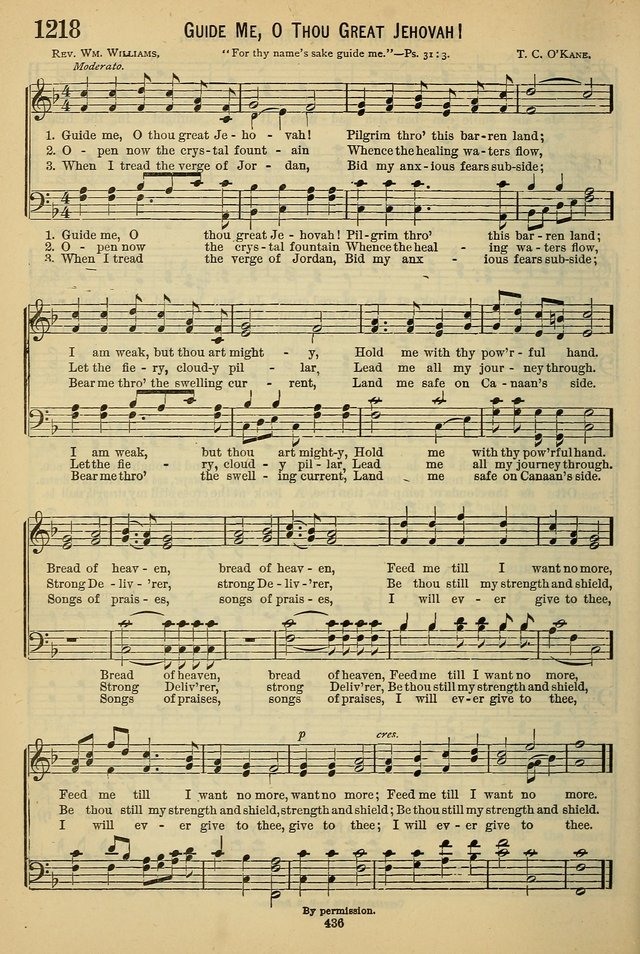 The Seventh-Day Adventist Hymn and Tune Book: for use in divine worship page 436