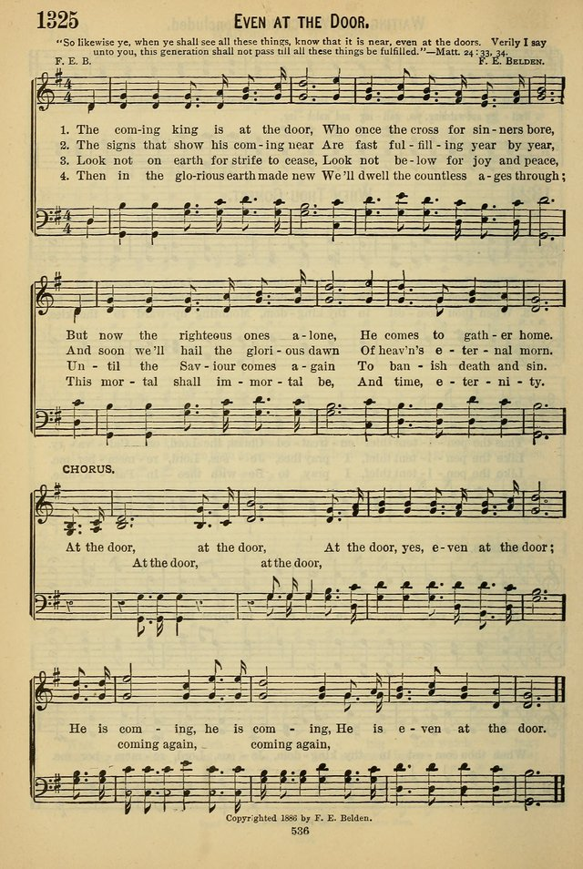 The Seventh-Day Adventist Hymn and Tune Book: for use in divine ...