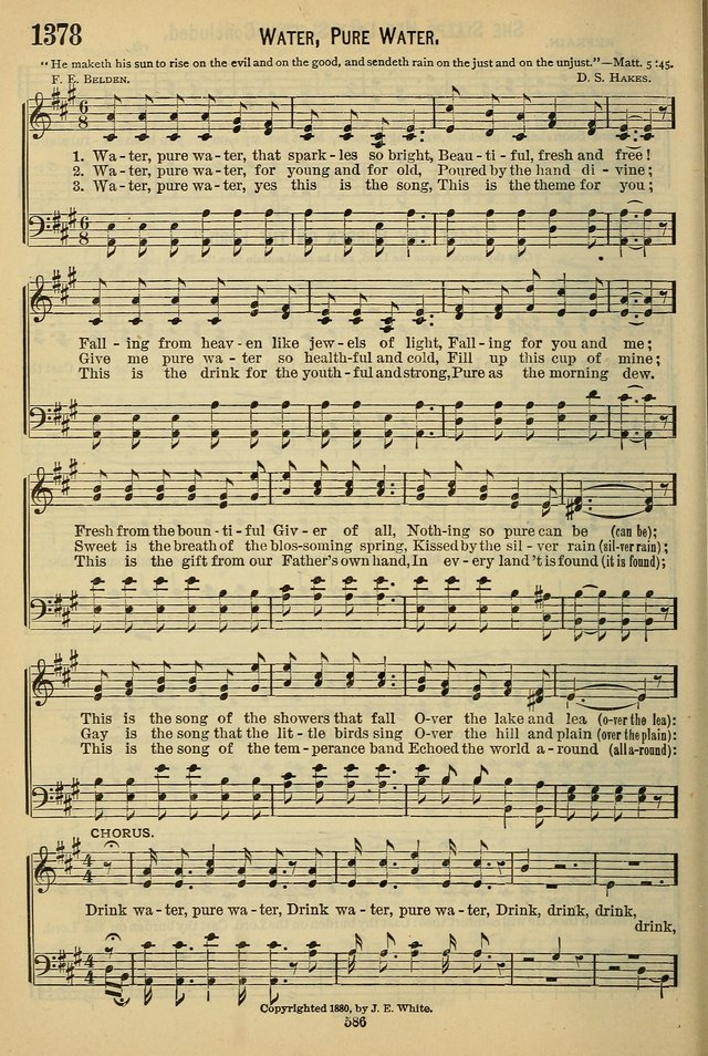 The Seventh-Day Adventist Hymn and Tune Book: for use in divine worship page 586