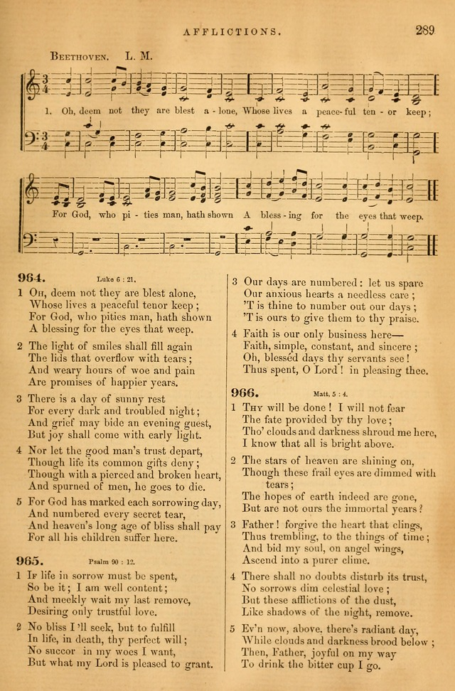 Songs for the Sanctuary: or hymns and tunes for Christian Worship page 290