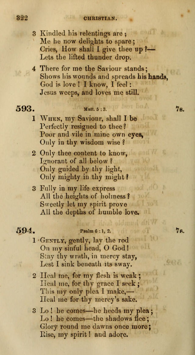 Songs for the Sanctuary; or, Psalms and Hymns for Christian Worship (Words only) page 322