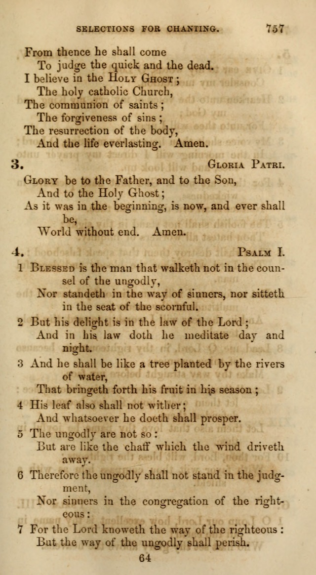 Songs for the Sanctuary; or, Psalms and Hymns for Christian Worship (Words only) page 755