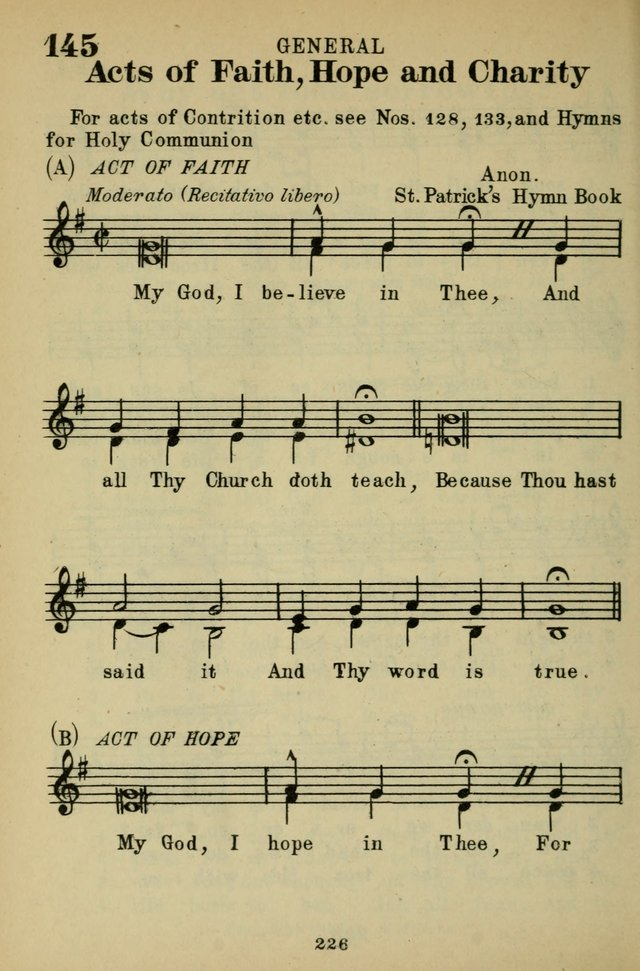 The St. Gregory Hymnal and Catholic Choir Book. Singers