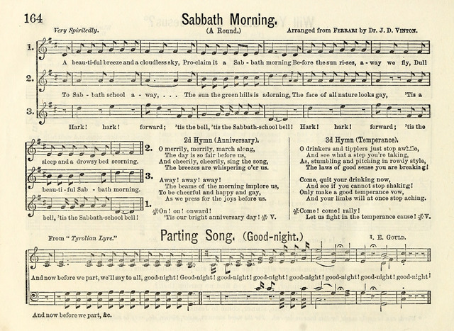 Songs of Gladness for the Sabbath School page 162
