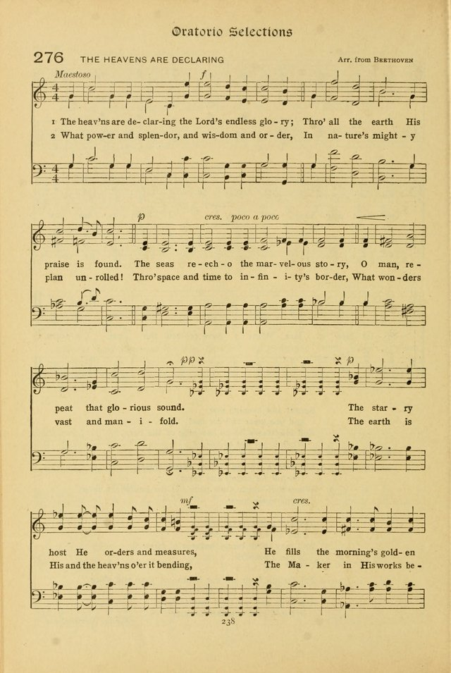 The School Hymnal: a book of worship for young people page 238