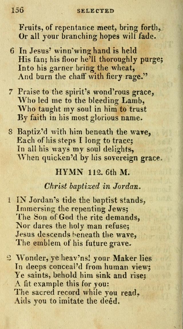A Selection of Hymns, from the Best Authors page 160