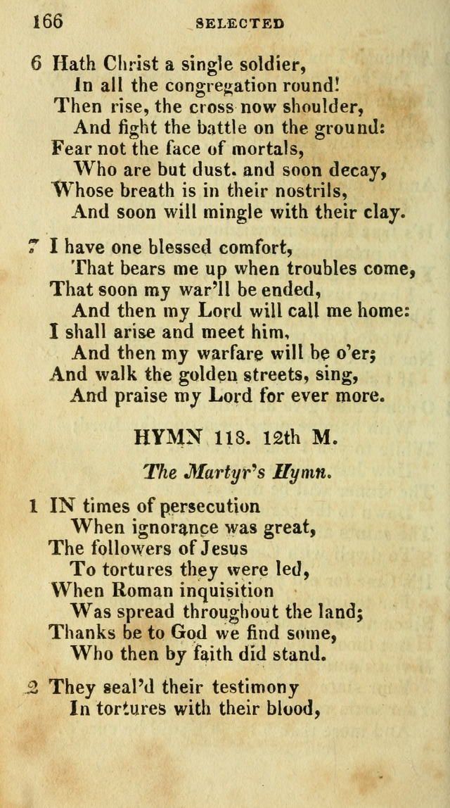 A Selection of Hymns, from the Best Authors page 170