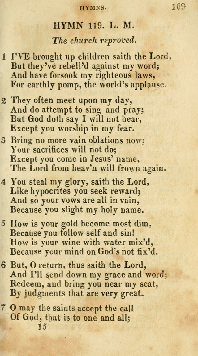 A Selection of Hymns, from the Best Authors page 173