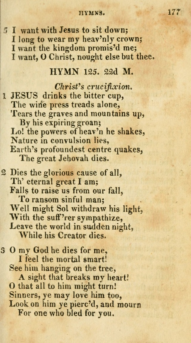A Selection of Hymns, from the Best Authors page 181