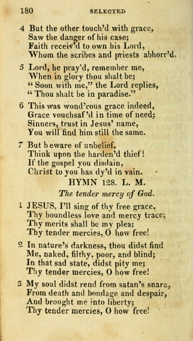 A Selection of Hymns, from the Best Authors page 186